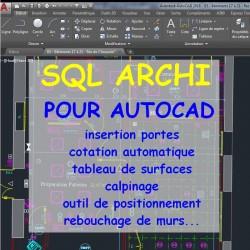 SQL Archi pour AutoCAD